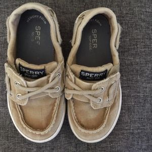 Toddler boy Sperry size 7.5